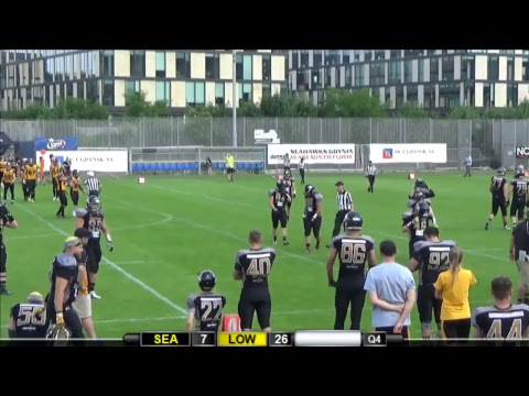 LFA: Seahawks Gdynia - Lowlanders Białystok
