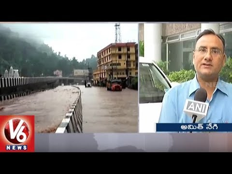 Weather Report | Heavy Rainfall Expected In Next 72 Hours In Most Parts Of Uttarakhand | V6 News