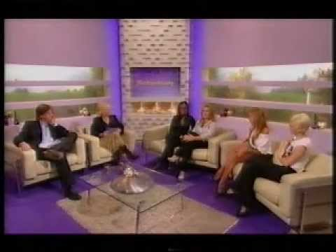 Sarah Harding and Nadine Coyle interview richard and judy 07