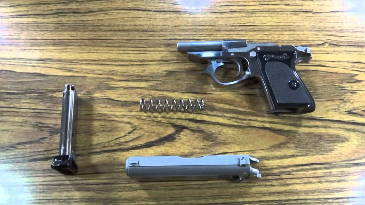 Disassembly Walther Ppk Walther Ppk Field Strip