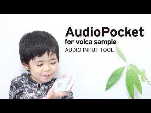 Introducing Korg Ios App : Audiopocket For Volca Sample video