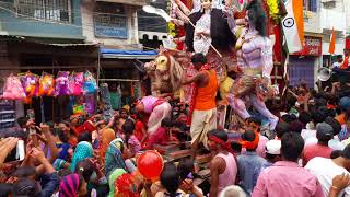 Raja babu with shanu babu durga puja(2)