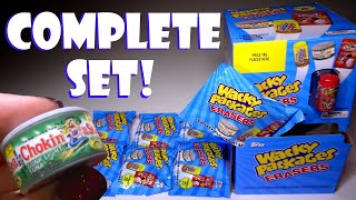 Opening Wacky Packages Erasers, complete set!!!