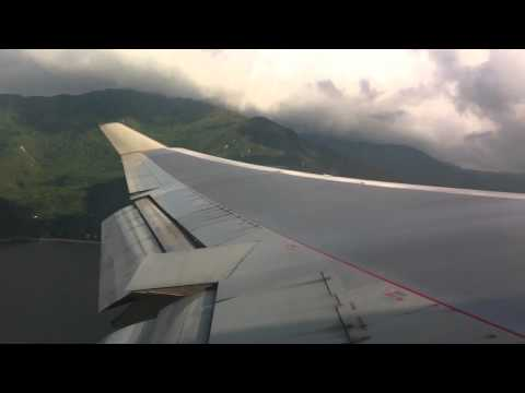 Takeoff at Hong Kong Chek Lap Kok International Airport - Cathay Pacific Boeing 747-400 CX 838