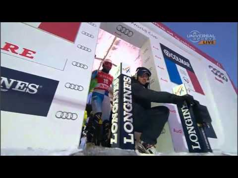 Ted Ligety - 2nd Run Gate Straddle - ARE Sweden