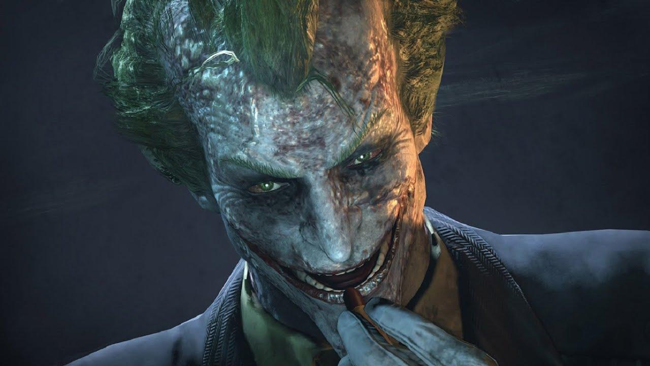 Arkham Joker Laugh Joker Laugh Montage Batman