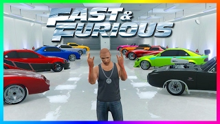 TOP 10 FAST & FURIOUS CARS TO OWN IN GTA ONLINE - BEST GTA 5 FAST AND FURIOUS VEHICLES! (F&F CARS)