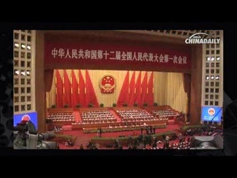 Xi elected Chinese president