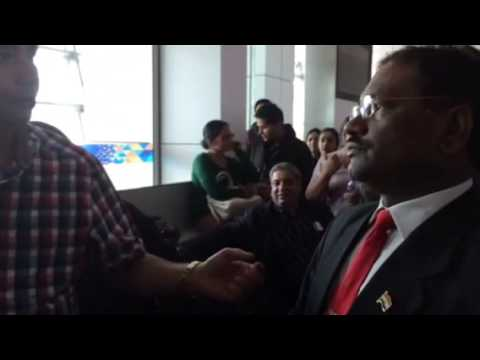 Air India angry passengers part 1