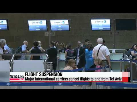 U.S., European flights to and from Tel Aviv suspended over safety concerns
