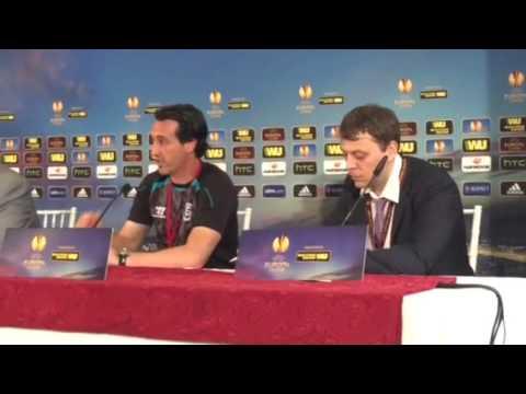 Unai Emery alla vigilia di Fiorentina-Siviglia