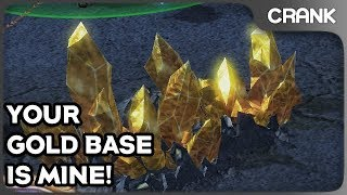 Your Gold Base Is Mine! - Crank's Variety StarCraft 2
