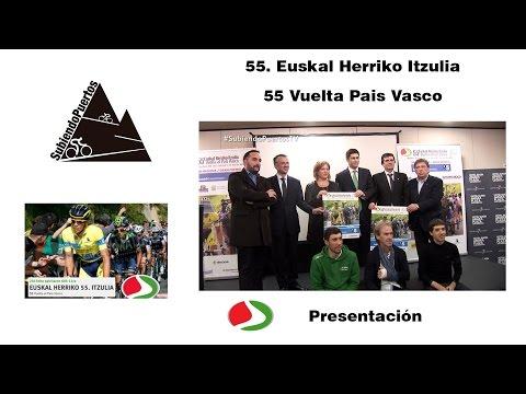 Presentación Vuelta al País Vasco 2015 (55. Itzuliaren Aurkezpena)
