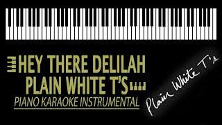 Hey There Delilah Karaoke Plain White T 39 S Piano Version