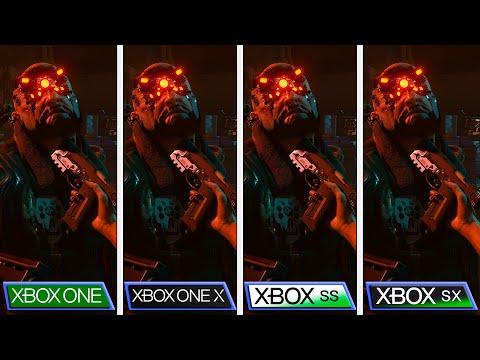 Cyberpunk 2077 | 1.10 Patch Comparison | Xbox One S|X - Xbox Series S|X