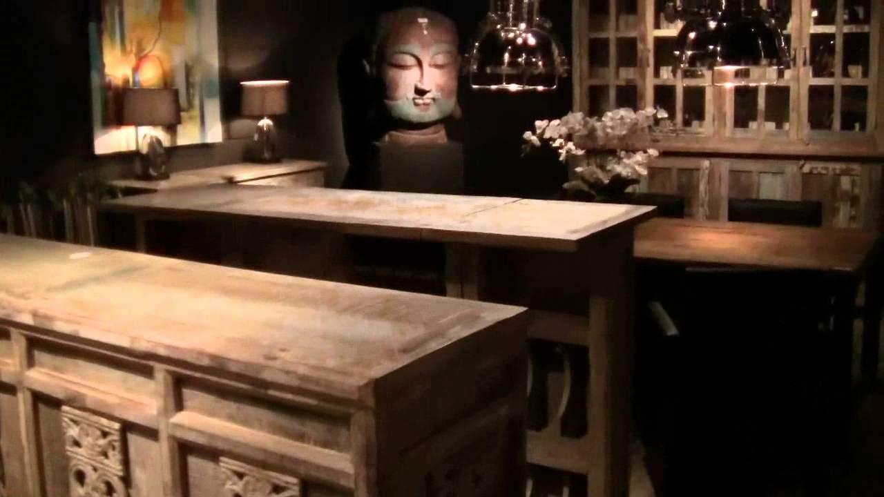 Idee dressoir spiegel : sloophouten meubelen bij Guntlisbergen ADC - YouTube