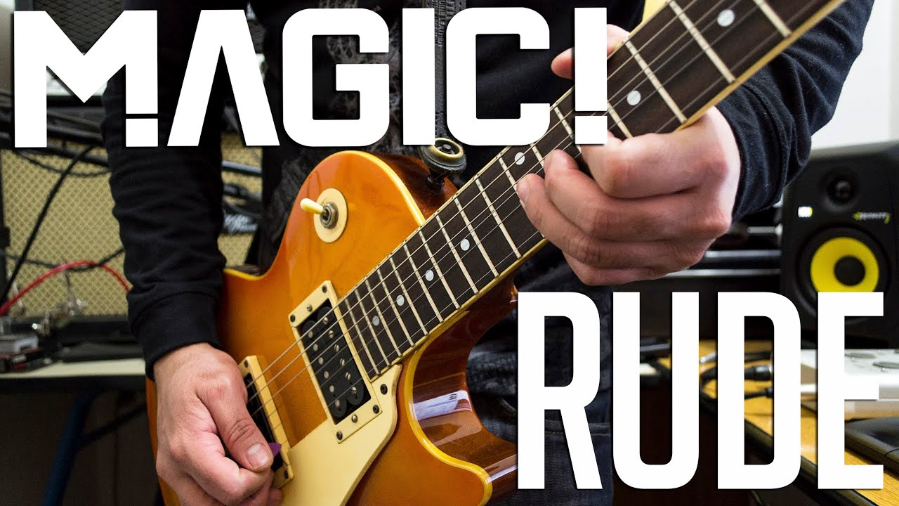 Magic rude electric guitar cover instrumental youtube