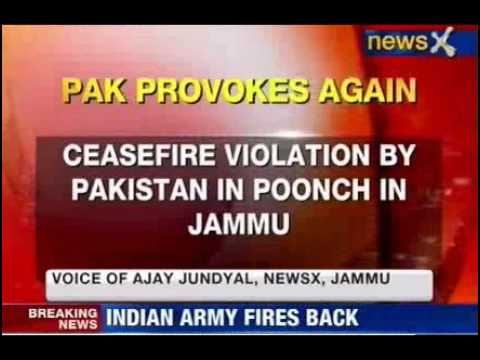 News X: Ceasefire by Pakistan in Jammu