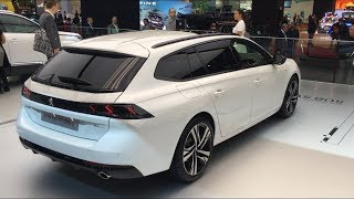 New Peugeot 508 SW 2019 - First look (interior, exterior, trunk space)