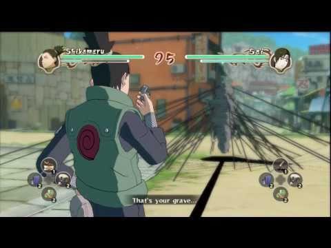 Naruto Shippuden: Ultimate Ninja Storm 2 - All Jutsus & Ultimate Moves HD