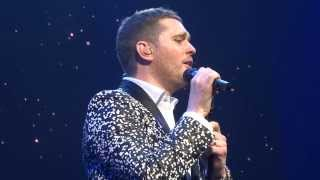 "Michael Buble Video - Michael Bublé ""Song for you"" 21.2.2014 Helsinki"