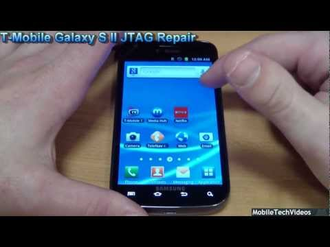 JTAG Repair For Samsung I9000 Galaxy S (Unbrick, Repair)  How To Make