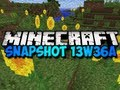 Minecraft Snapshot 13w36a - NEW FISH, FLOWERS, and MORE! (HD)