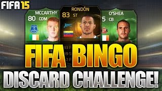 FIFA BINGO!!! FULL GREEN TEAM & INFORM DISCARD CHALLENGE!!! Fifa 15 Discard Pack Opening
