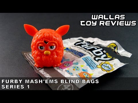 Toy Review - FURBY MASH'EMS Blind Bags Series 1
