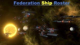 Star Trek New Horizons - Federation Ship Roster