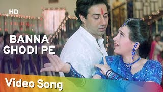 Banna Ghodi Pe - Ajay Songs - Alka Yagnik - Kumar Sanu - Wedding Song