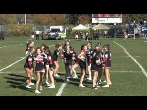 The Battle of the Cheerleaders - Brockville Bowl 2013