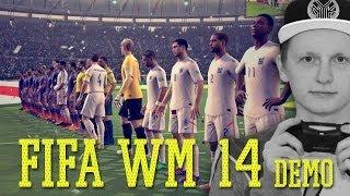 FIFA Fussball-Weltmeisterschaft 2014 Demo angespielt | Tomy Hawk TV (Deutsch/German)