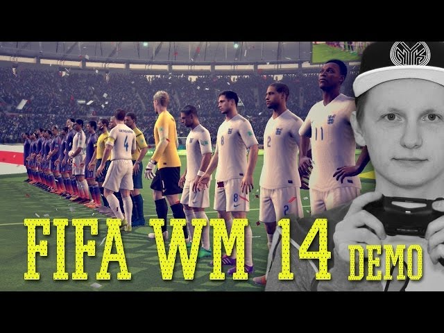 FIFA Fussball-Weltmeisterschaft 2014 Demo angespielt | Tomy Hawk TV (Deutsch/German)