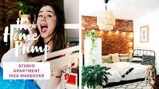 (12.4 MB) Stunning Studio Apartment Makeover On A Budget | Ikea Hacks | The Home Primp Mp3
