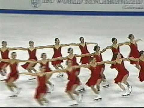 2010 World Synchronized Skating Championships Montage