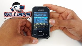 Hard Reset  Samsung Galaxy Y Plus GT-S5303, S5303B, S6293, S6293T, Como Formatar, Desbloquear