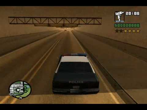 Gta Tv Show >> GTA San Andreas Police Chase 1 - YouTube