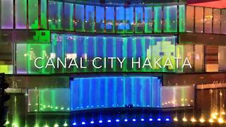 "CANAL CITY HAKATA ""SPACE INVADERS GROOVY"" INVADE CANAL CITY"