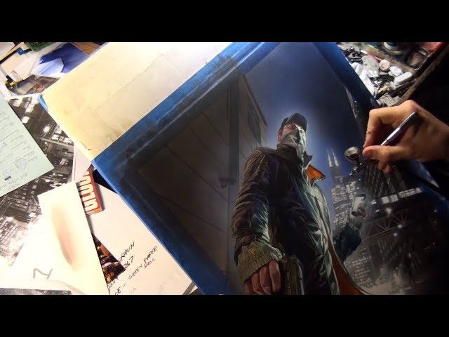 Watch Dogs Alex Ross Poster - GameStop Pre-Order Exclusive [North America]