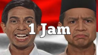 Prabowo VS Jokowi - Epic Rap Battles Of Presidency - 1Jam