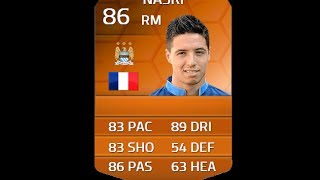 FIFA 14 MOTM NASRI 86 Player Review & In Game Stats Ultimate Team