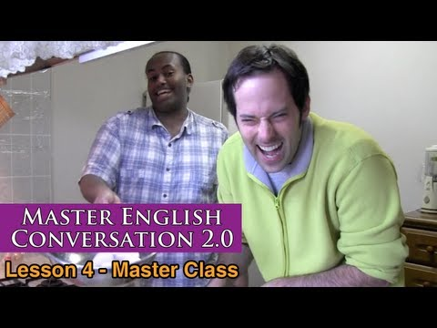 Real English Conversation & Fluency Training – Food & Baking – Master English Conversation 2.0