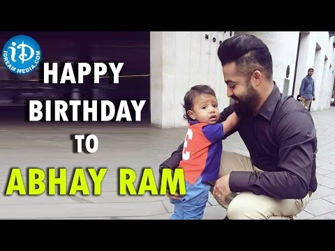 Jr NTR Son Abhay Ram Birthday Special – Happy Birthday To Abhay Ram. Photo,Image,Pics