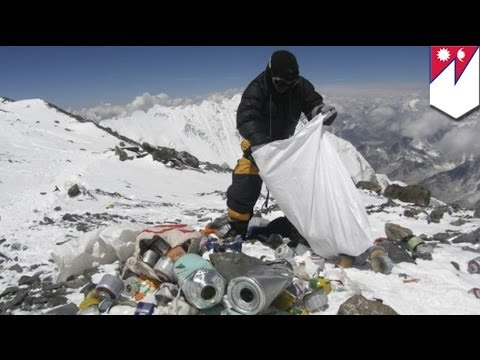 Mount Everest new rule: climbers must return with 8kg of trash