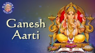 Sukhkarta Dukhharta - Ganesh Aarti with Lyrics - Ganesh Chaturthi Songs - Marathi Devotional Songs
