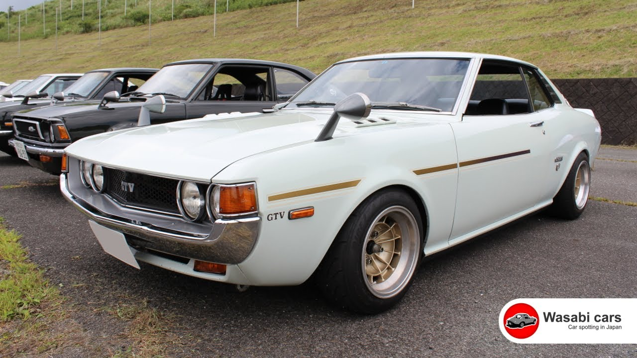 A Perfect 1st Gen Toyota Celica Gtv Coupe Tosco Wheels