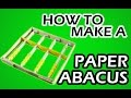 how to make a paper abacus easy thumbnail