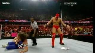 The Miz Returns on Monday Night RAW 081009