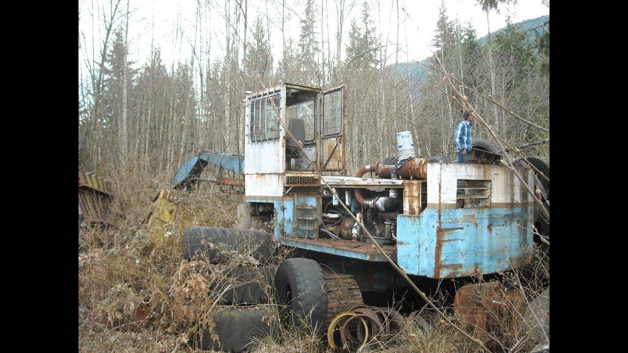 Abandoned Logging Equipment Youtube